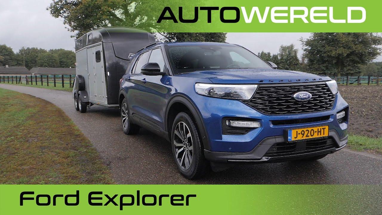 Ford Explorer Plug-in Hybrid met Allard Kalff