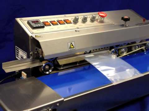 Sealer Sales HL-M810 Horizontal Dry Ink Coding Band Sealer HL-M810 Horizontal Dry Ink Coding Band Sealer
