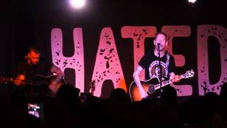 Corey Taylor I Don't Care About You Fear Turf Club Minneapolis St. Paul 7/12/2015