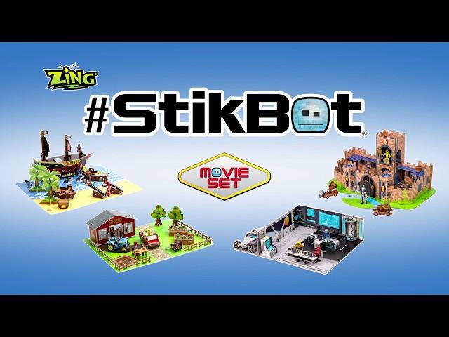 Игровой набор для анимационного творчества STIKBOT – ЗАМОК