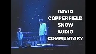 Snow Dream Illusion With Audio Commentary By David Copperfield HD 2017