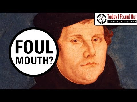Talking Tough - Martin Luther's Potty Mouth