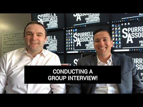 Edmonton Business Consultant | Conducting A Group Interview