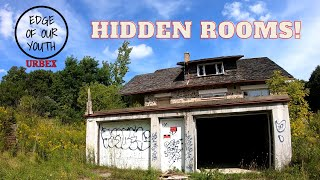 Abandoned House With Hidden Rooms & A Pool - Ontario, Canada - Urbex - Edge Of Our Youth