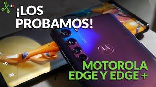 Motorola Edge y Edge+ llegan a México, UNBOXING, primeras impresiones y precio oficial