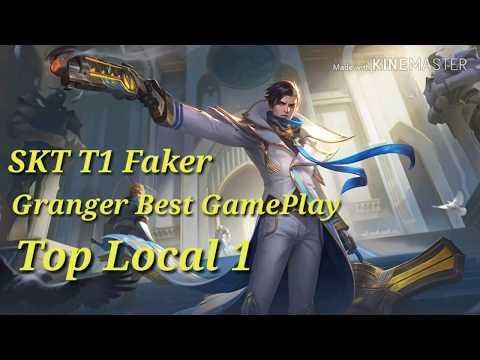 SKT T1 Faker Best Gameplay Granger | Mobile Legend |