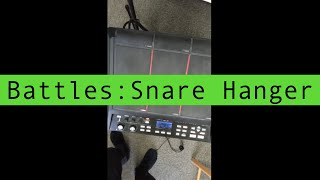 Drum Cover - Battles : Snare Hanger SPD-SX Sampling pad