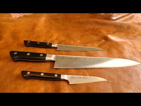 Tojiro DP Kitchen Knives VG-10 Japanese knives on a budget