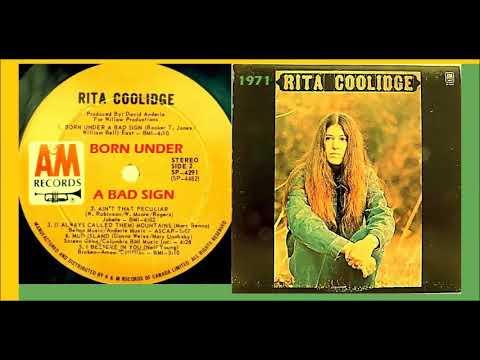 Rita Coolidge - Born Under A Bad Sign 'Vinyl'
