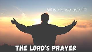 Why this prayer? Matt 6:9-13