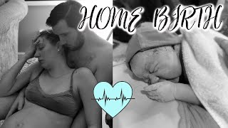 My Birth Story | Natural Home Birth | 9 Pound Baby *Raw & Real* | Part 1