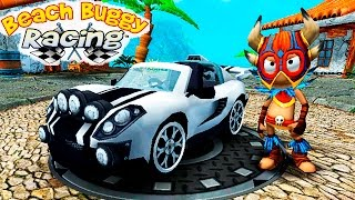 BEACH BUGGY RACING #11 гонки тачки ИГРА Веселое видео про машины гонки VIDEO