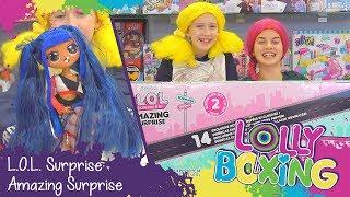 Lollyboxing 42 - L.O.L. Surprise! Amazing Surprise - Box plný překvapení
