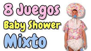 Juegos Para Baby Shower Mixto Para Imprimir Videos