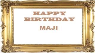 Maji   Birthday Postcards & Postales - Happy Birthday