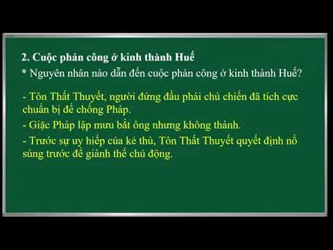 LỊCH SỬ 5. BÀI 3. CUỘC PHẢN CÔNG Ở KINH THÀNH HUẾ
