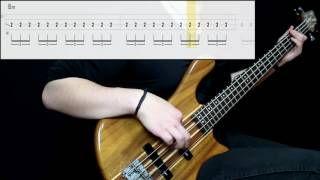 Muse   Knights Of Cydonia (Bass Cover) (Play Along Tabs In Video)