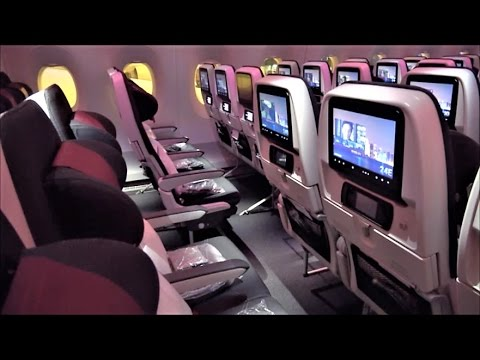 Qatar A350 Economy Class Review