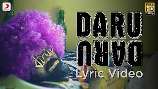 DARU DARU – LYRIC VIDEO   DEEP JANDU FEAT DIVINE & GANGIS KHAN