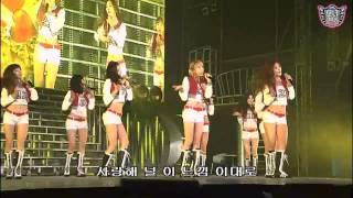 SNSD - Into The New World [The 1st Asia Tour Into The New World]