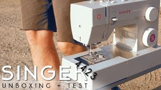 Singer 4423 Heavy Duty | Unboxing +Test
