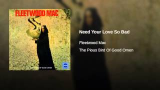 Need Your Love So Bad