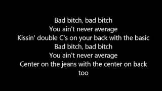 Gambar cover Bebe Rexha - Bad Bitch (Lyrics) ft. Ty Dolla $ign