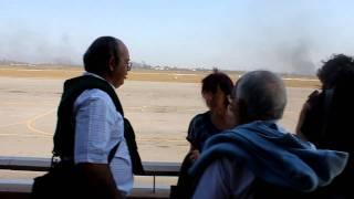 preview picture of video 'Terraço da Sala de Embarque do Aeroporto Internacional de Maputo'