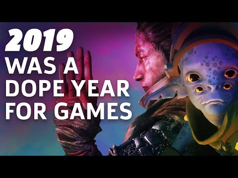 2019 Was Actually A Dope Year For Video Games