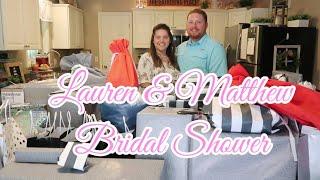 Lauren And Matthew  BRIDAL SHOWER