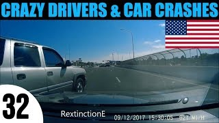 CAR CRASH AND ROAD RAGE COMPILATION IN USA and CANADA - EPISODE 32
