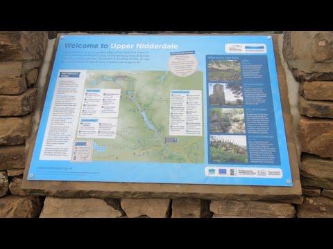 Scar House Reservoir Upper Nidderdale  Great & Little Whernside via Pateley Bridge