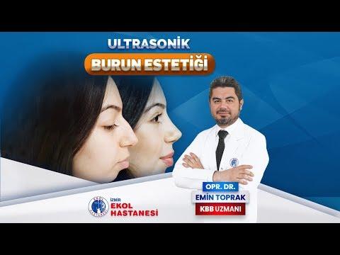 Ultrasonik Yöntemle Burun Estetiği - Opr. Dr. Emin Toprak - İzmir Ekol Hastanesi