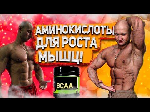 Аминокислоты для роста мышц. Как когда и сколько принимать