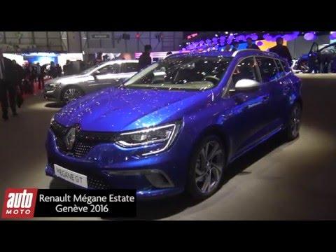 2016 Renault Megane Estate : la présentation, les infos [Salon de Genève]