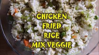 Chicken Fried Rice-Easy Dinner less than 30 minutes