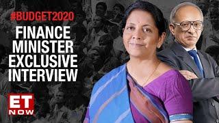 FM Nirmala Sitharaman decodes Budget 2020 with Swaminathan Aiyar & Nayantara Rai | The Interview