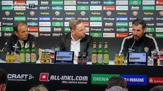 32. Spieltag | SGD - FCSP | Pressekonferenz nach dem Spiel