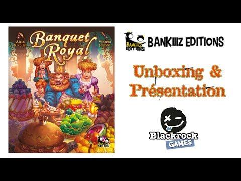 Banquet Royal : Unboxing & Présentation