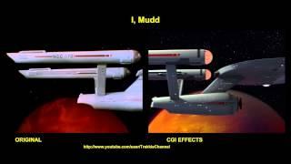 Star Trek - I Mudd  - Visual Effects Comparison
