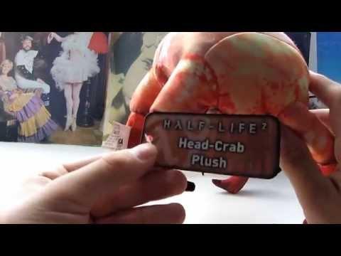 Видео № 0 из игры Плюшевый ХЭДКРАБ (Half Life Plush Head Crab)