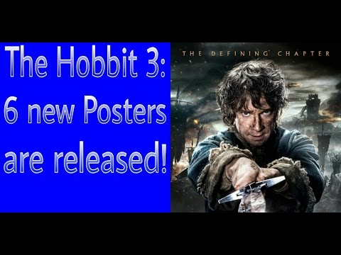 6 New Posters To The Hobbit 3 Are Released! [HD]