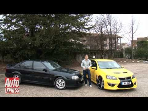 Vauxhall VXR8 vs Lotus Carlton Car Review