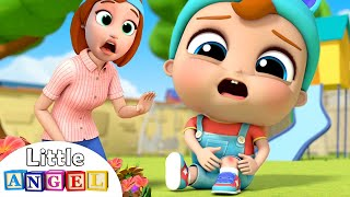 I've got a Boo Boo | Boo Boo Song 2 | Little Angel Kids Songs