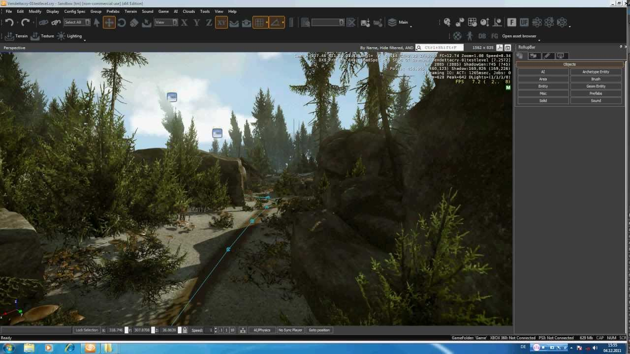 Cryengine 3 Tutorial 10 Music & ambient Sound (VendettaCry)