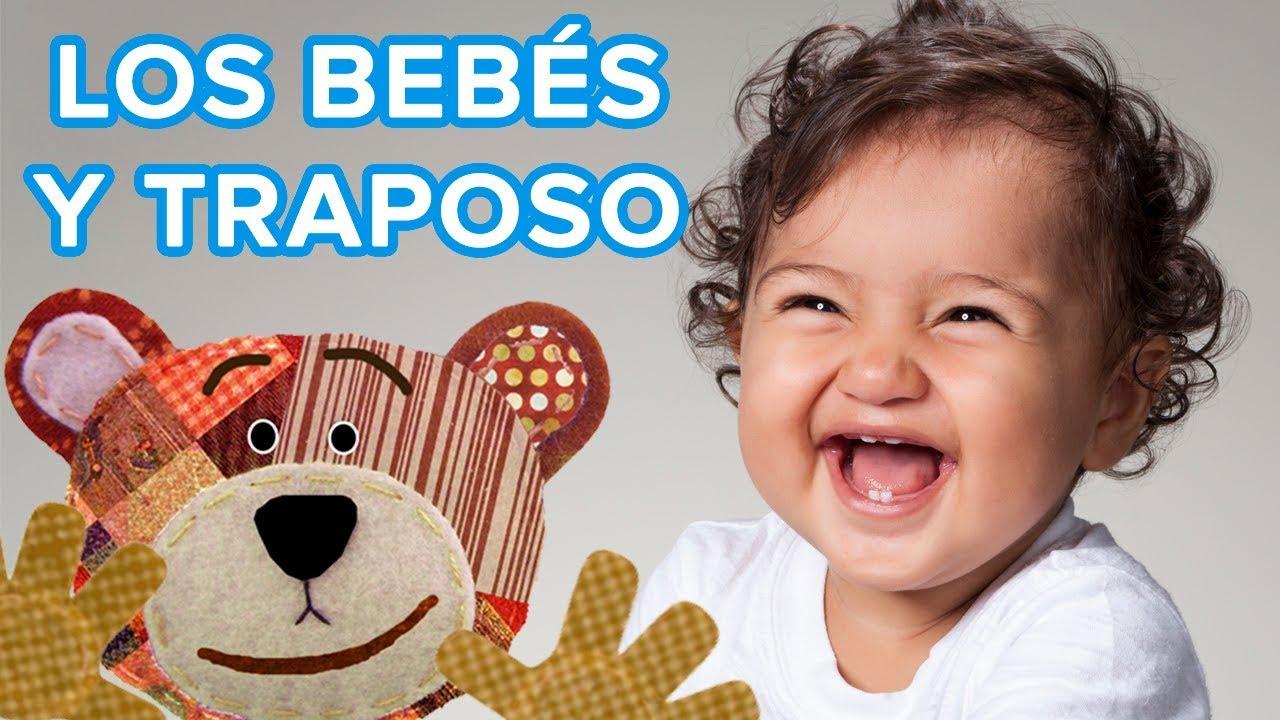 Los bebés adoran a Traposo | Vídeos y fotografías de bebés con el oso Traposo ????