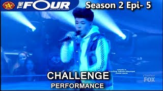 "Dylan Jacob 16 year old rapper raps ""DAT Cheese"" The Four Season 2 Ep. 5 S2E5"