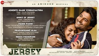 Jersey - Full Movie Audio Jukebox | Nani & Shraddha Srinath | Anirudh Ravichander