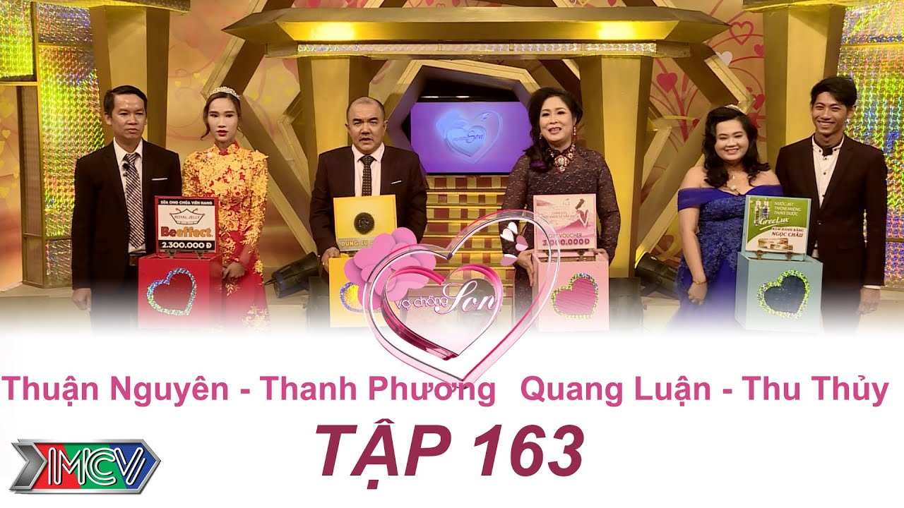 Thuận Nguyên - Thanh Phương | Thu Thủy - Quang Luận |  VỢ CHỒNG SON | Tập 163 | 25/09/2016