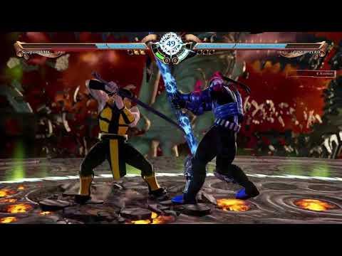 Soul Calibur VI - Creation : Scorpion umk3 vs Cyber Sub-Zero
